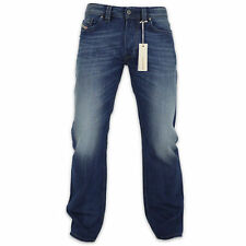 DIESEL JEANS - DIESEL LARKEE STRAIGHT FIT DENIM JEAN - 8XR BLUE - BNWT