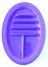 NEW PURPLE Colored Taco Plates BPA Free Microwave Dishwasher Safe Made in USA