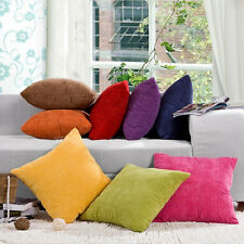 Square Color Corn Kernels Corduroy Sofa Decor Throw Pillow Case Cushion Cover
