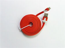 2M USB sync data flat charging cable for Iphone5 Iphone5s Iphone5c Ipad3 Ipad4