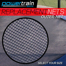 NEW REPLACEMENT TRAMPOLINE SAFETY NET OUTDOOR ENCLOSURE 8ft 10ft 12ft 14ft 16ft