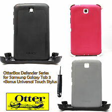 OtterBox Defender Case for Samsung Galaxy Tab 3 7 inch Black Pink wth Stand