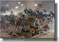On Wood: Historic Civil War Battle Picture Wall Art Decor, Ready to Hang!