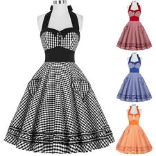 2015 Vintage Retro Swing 50s Housewife Party Pinup Rockabilly EVENING Prom Dress