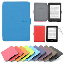Slim protector PU Leather Smart Magnetic Case Cover For Kindle Paperwhite 1/2