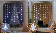 LED Window Hanging Icicle Lights Indoor Home Holiday Christmas Decor * 2 choices