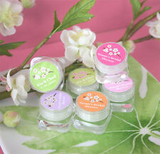 24 Cherry Blossom Personalized Hand Cream Lotion Wedding Party Supplies Favors