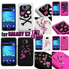 For Samsung Galaxy S2 AT&T i777 / i9100 - SOFT RUBBER SILICONE SKIN CASE COVER