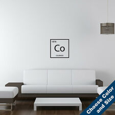 Colorado Element Wall Decal -Vinyl Sticker