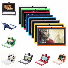 "iRulu  7"" 8GB/16GB Android 4.2 Dual Core Dual Camera Tablet w/ Cartoon Keyboard"