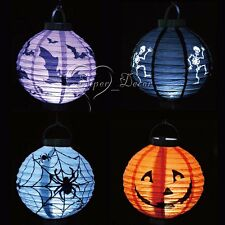 5 Festival Party Halloween paper lantern Props Outdoor Lamp Light 4 Styles Decor