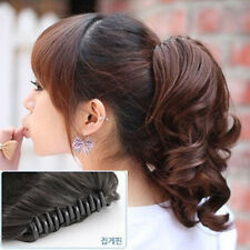 New Style Hairpiece Short Wavy Curly Claw Hair Ponytail Clip-on Hair Extensions