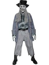 Mens Adult Halloween Zombie Ghost Pirate Horror Fancy Dress Costume Outfit