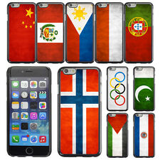 "Country National Flag Hard Phone Case Cover for Apple iPhone 6 4.7"" inch"