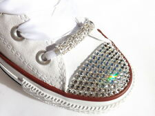 Stunning Large Crystal Tube - Shoe / Shoelace Charms ideal for Blinged Converse
