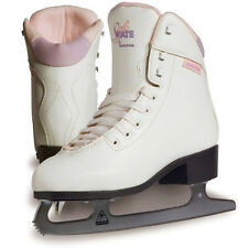 New Jackson Ultima GS280H Ladies Soft Skate Ice FIGURE SKATES Purp/Pink Lining