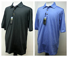 NEW PEBBLE BEACH MENS PIMA COTTON BLEND GOLF POLO SHIRT U PICK SIZE & COLOR