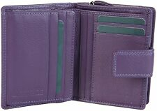PRIME HIDE SMALL SOFT LEATHER WOMENS ZIP AROUND PURSE WALLET,FAB COLOURS -2311