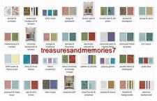 SIZZIX Tim Holtz Alterations TEXTURE FADES EMBOSSING FOLDERS Choose Your Design!
