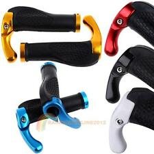 1 Pair Cycling Mountain Bicycle Bike Lock-On Rubber Handlebar Hand Bar End Grips