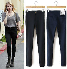 Womens Skinny Jeans High Waisted Skinnys Long Pants Elasticity Denim Leggings