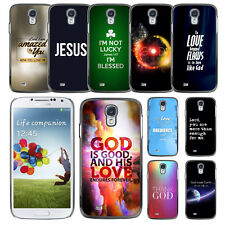Bible Verse Word For Samsung Galaxy S4 i9500 Case Plastic Hard Phone Cover