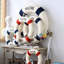 New Foam Nautical Decorative Lifebuoy Life Ring Wall Hanging Showcase Home Decor