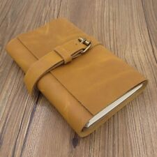"4x7"" Vintage Genuine Leather Diary, Notebook, Sketchbook, Refillable Journal"