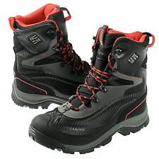 Columbia Bugaboot Plus Omni-heat Winter Waterproof Boots Black/Chili (1496-011)