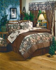 Whitetail Dreams Wildlife Buck Deer Comforter Set or Bed in Bag w/Sheets~5 Sizes