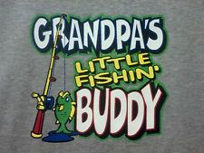 Grandpa Fishing Bud AWESOME Kid Cute Baby Toddler Youth Tee.....