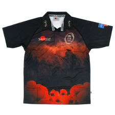 BRITISH ARMY 'THEIR NAME LIVETH FOR EVERMORE' 2014 REMEMBRANCE POPPY RUGBY SHIRT