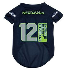 NEW SEATTLE SEAHAWKS PET DOG 12TH MAN 'S BEST FRIEND MESH JERSEY ALL SIZES NFL