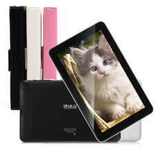 """iRULU 9"""" Quad Core A33 Android 4.4 Bluetooth 4.0 Dual Cam Tablet PC w/Keyboard"""