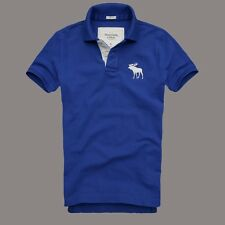 Mens Abercrombie and Fitch polo shirts-mens polo shirt-men's T shirt- Blue
