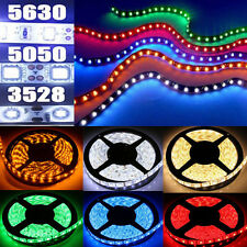 5M 3528 5050 5630 SMD 300 LEDs  Non- Waterproof LED Flexible Strip +24 44 Remote