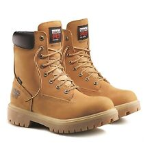 Timberland Men's PRO® Direct Attach 8 Steel Toe Boots Wheat Nub 26002