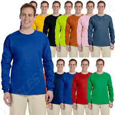 Gildan Adult Ultra Heavy 6.0 oz 100% Cotton Long Sleeve S-5XL T-Shirt MG240