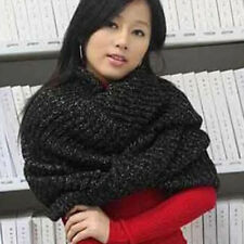 Women's Scarf Coffee Black Autumn Winter Knitting Wool Scarf For Girl Hot Sale