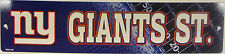 """NFL Licensed Team Logo Street / Drive Signs 3.75"""" x 16"""" Pick Your Team!!!"""