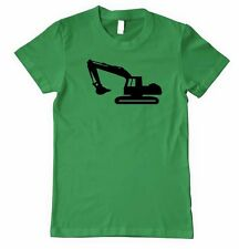 DIGGER BACKHOE Unisex Adult T-Shirt Tee Top