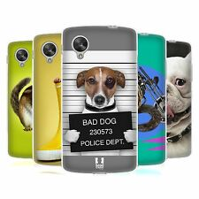 HEAD CASE FUNNY ANIMALS GEL BACK CASE COVER FOR LG GOOGLE NEXUS 5 D821