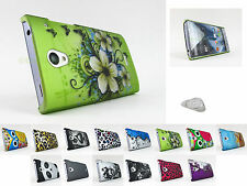 for SHARP Aquos Crystal Design Two Piece Hard Shell Case Cover +PryTool