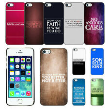 Jesus Christ Christianity Bible Phone Case For Apple iPhone 5G 5S US Ship