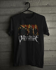 Bullet for My Valentine T-Shirt, Welsh heavy metal, metalcore band Black Tee