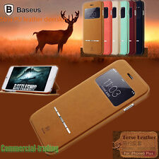 Baseus Smart Magnet Flip PU Leather Cover Case Stand For iPhone 6 6 Plus