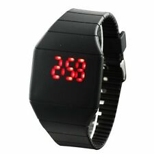 Fashion Quality Unisex Ultra Thin LED Touch Screen Case Wristwatches 5 Colors