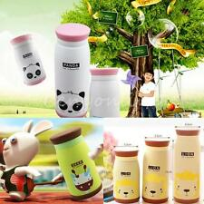260-500mL Animal Stainless Steel Vacuum Flasks Thermoses Insulated Mug Water Cup