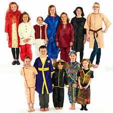 Traditional Childrens Kids Fancy Dress Educational Dressing Up Costumes Outfits