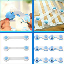 Adhesive Baby Toddler Drawer Cabinet Cupboard Door Fridge Safety Locks